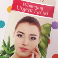 Nisa lovely whitening urgent facial